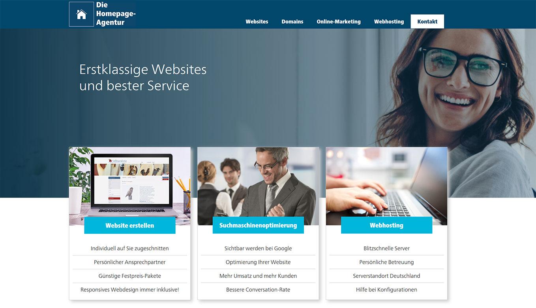 Die Homepage Agentur